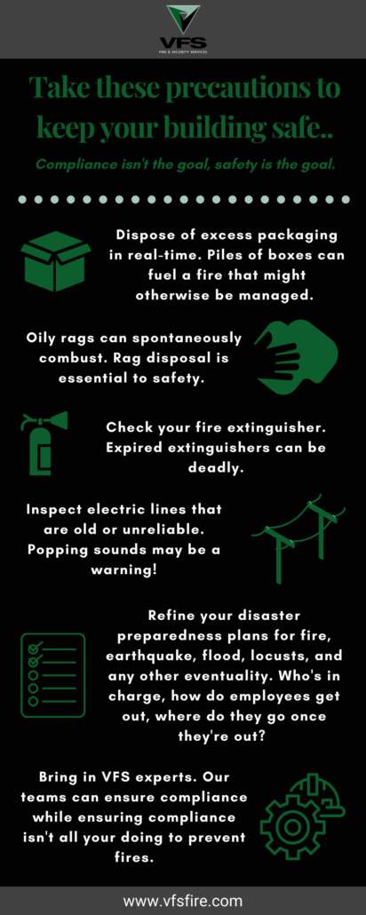 Take theses precautions to keep your building safe